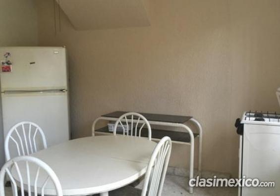Consulta por habitacion con baño y cocina equipada funciona perfecto