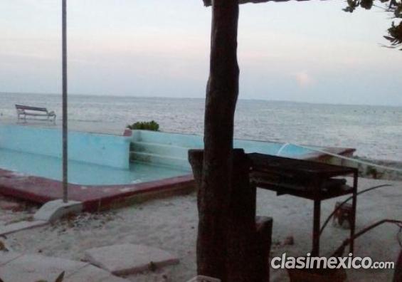 Casi nuevo rento habitaciones frente al mar oferta especial.