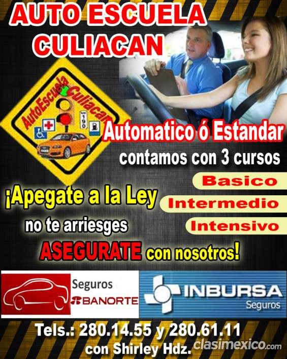 Asegura tu auto en escuela de manejo culiacan