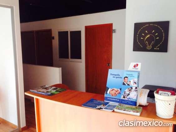 Renta una oficina amueblada excelente ubicación!