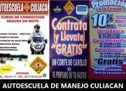 Pide hoy mismo tu curso de manejo en autoescuela de manejo culiacan