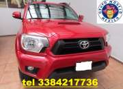 Toyota tacoma 4x4 año 2014