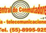 Tel. 8995-9251:PROGRAMACION URGENTE CONMUTADOR TELEFONICO ALCATEL OMNI PCX OXO
