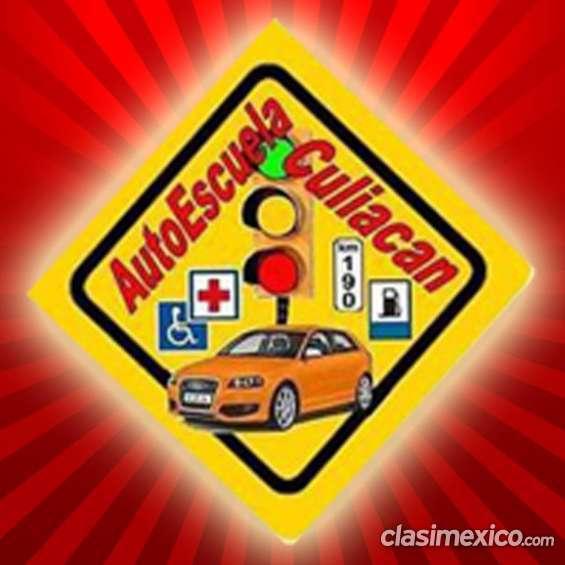 Maneja ya en autoescuela de manejo culiacan pide tu curso