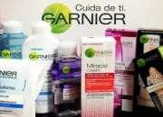 Arma paquetes de shampoos, cremas, toallas y delineadores GARNIER