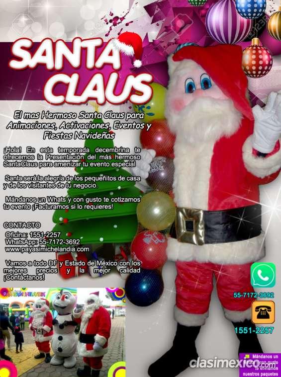Santa claus para temporada navideña - facturamos