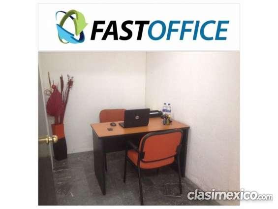 Renta tu oficina hoy en fast office 1 persona ideal contadores