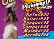 Shows para eventos de carnaval en estado de méxico: batucada, zanqueros, bailarinas