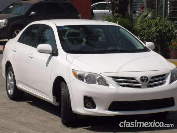 Toyota corolla xle 2013