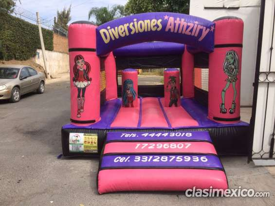 Brincolin inflable de monster hight