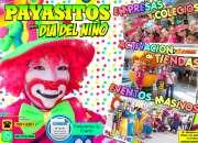 Payasos para animaciones de dia del niño - cdmx/edomex