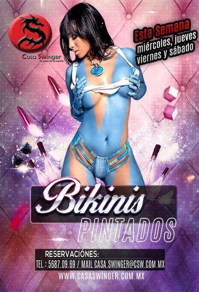 Esta semana en csw: ¡bikinis pintados!