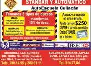 Autoescuela Culiacan Maneja Ya pide tu curso aqui