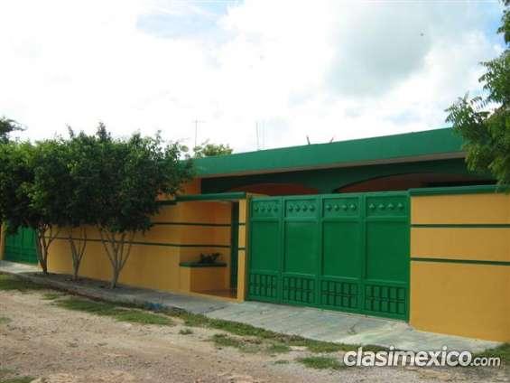 Cholul zona norte cerca de plaza altabrisa renta temporal o larga
