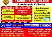 Autoescuela Culiacan cursos de manejo