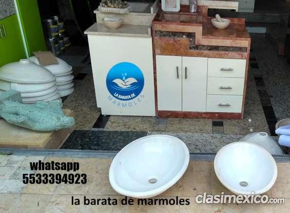 Lavabo bajo cubierta de ceramica