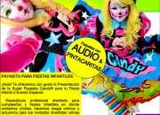 CANDY© - PAYASITA BONITA PARA FIESTAS INFANTILES - DF/EdoMex