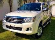 Toyota hilux srv 4x4 año 2014 $ 90.000 tel 3384217791