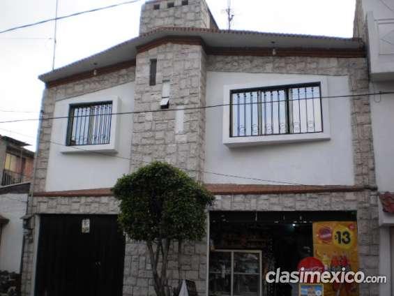 Casa con local, iztapalapa