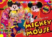 SHOW DE PAYASOS CON MICKEY MOUSE y MIMÍ - DF/EdoMex