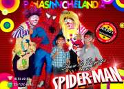 SHOW DE PAYASOS CON SPIDERMAN - DF/EdoMex