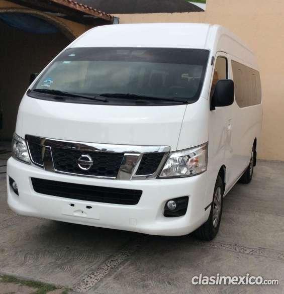 Nissan urvan de pasajeros oferta