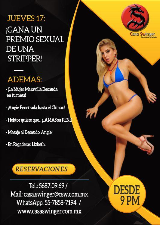 Jueves 17 en csw: ¡gana un premio sexual de una stripper!
