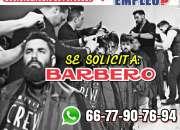 Te ofrecemos trabajo como barbero