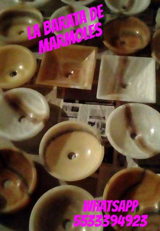 Bodega lavabos ovalines ónix y marmol desde $ 499.00