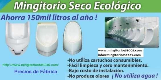 Mingitorios ecológicos en méxico