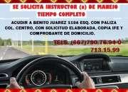 Enseña a manejar en Autoescuela Culiacan
