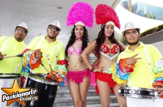 Batucada / batucada samba show / fiestas y eventos en oaxaca