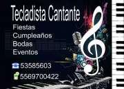 Tecladista Cantante para Fiestas, Cumpleaños, Eventos
