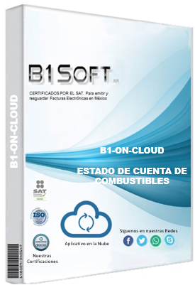 Cfdi estado de cuenta de combustibles on cloud 100 folios