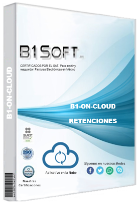 Cfdi retenciones on cloud 50 folios