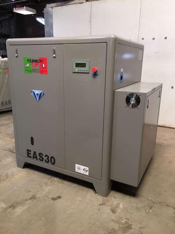 Compresor de tornillo de 50 hp marca fermon de velocidad variable