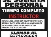 Estamos buscando instructores de manejo