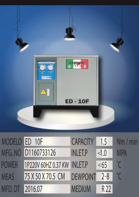 Secador refrigerativo para aire de 10 hp