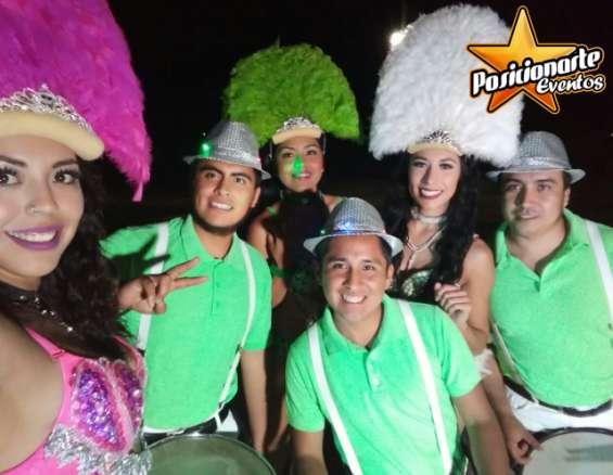 Batucada show fiestas y eventos en veracruz