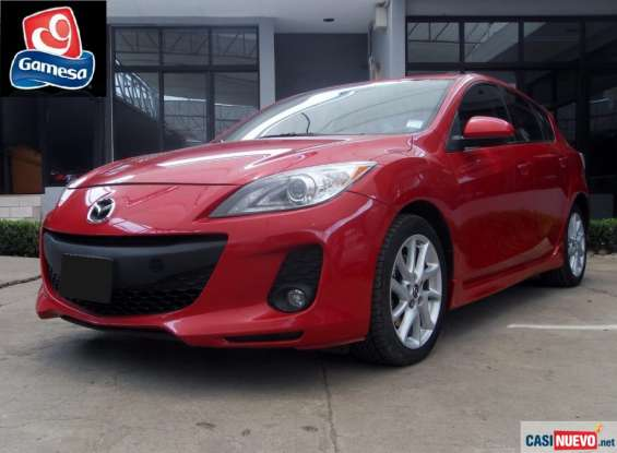 Mazda 3 hatchback 2013