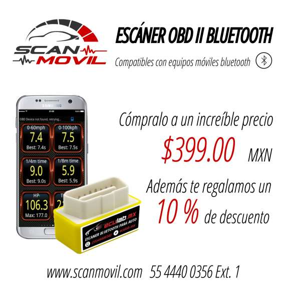 Scanmovil obdii bluetooth