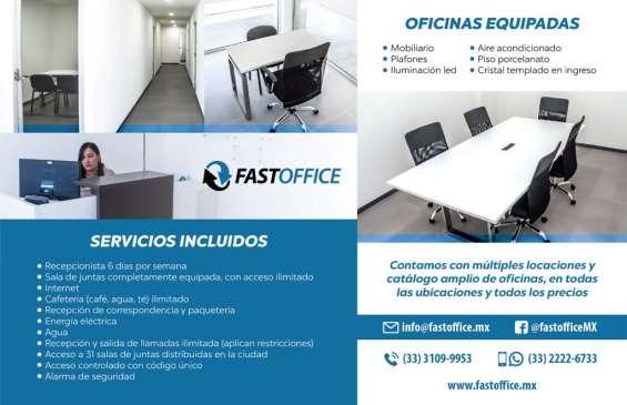 Oficinas corporativas disponibles