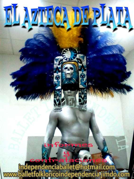Dios azteca de plata,15 años,bodas,fiestas