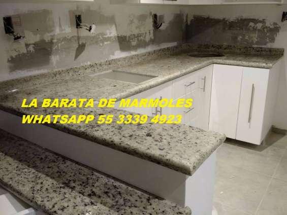Encimeras para cocinas en granito natural