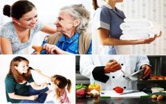 Cuidadoras para el cuidado de adultos mayores