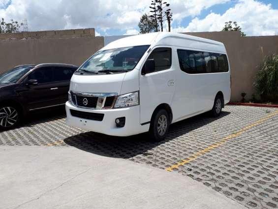 Nissan urvan 2014 15 pasajeros