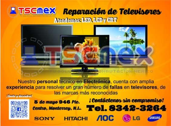 Reparacion de televisores en monterrey