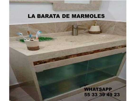 Muebles preciosos para baño en marmol !!!