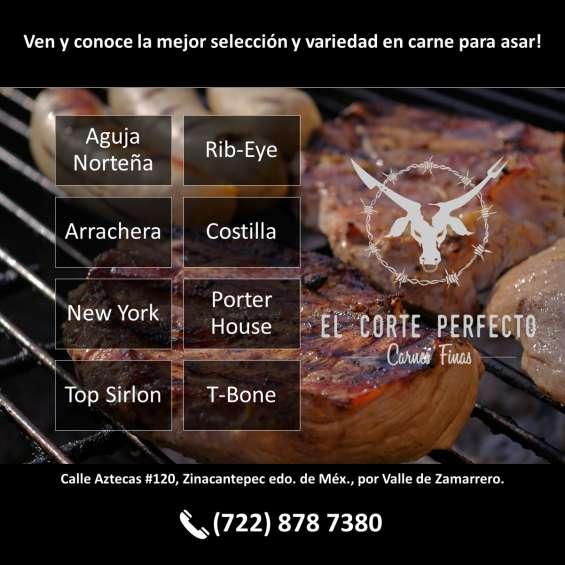 Cortes de carne en zinacantepec