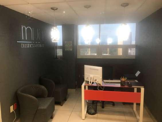 Bonitas y funcionales oficinas en renta